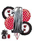 Costume Supercenter BB102181 Ladybug 1st Birthday Balloon Kit