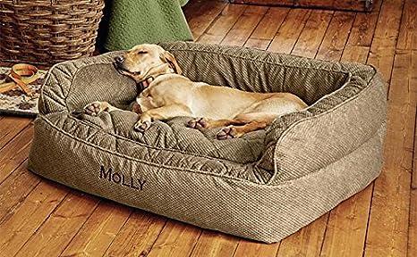 Tumbona Plato hondo (perro cama/Perros Pequeños hasta 40 libras.: Amazon.es: Productos para mascotas