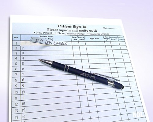 2 Part Carbonless Patients Sign In Forms (100) by Next Day Labels (Image #2)