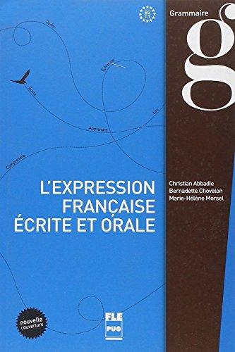 L'expression Francaise Ecrite Et Orale