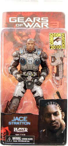 (NECA Gear of War Jace Stratton 7