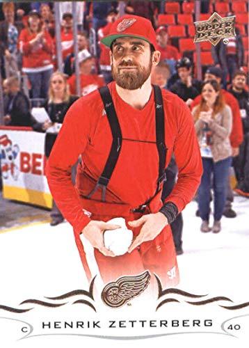 2018-19 Upper Deck Hockey Card #64 Henrik Zetterberg Detroit Red Wings Official NHL UD Trading Card