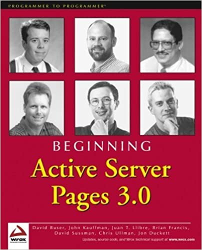 Beginning Active Server Pages 3.0 by David Buser (2000-07-11)