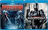 RoboCop & Predator (Ultimate Hunter Edition) Sci-Fi Aliens Blu Ray Double Feature Movie Set