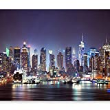 artgeist Photo Wallpaper New York City 135'x101' XXL Peel and Stick Self-Adhesive Foil Wall Mural Removable Sticker Premium Print Picture Image Design Home Decor d-B-0034-a-b