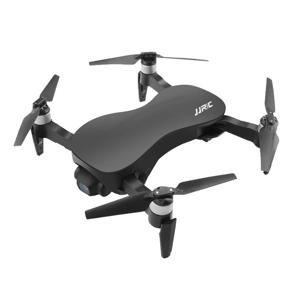 Untellstor WiFi FPV 1080P HD Camera GPS 3-axis Head Drone RC Quadcopter 1200M One Key Take Off/Landing Foldable (Black) by Untellstor