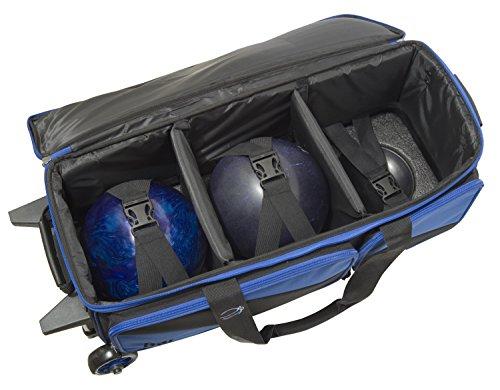 BSI 4301 Triple Roller Bag, Blue/Black by BSI (Image #4)