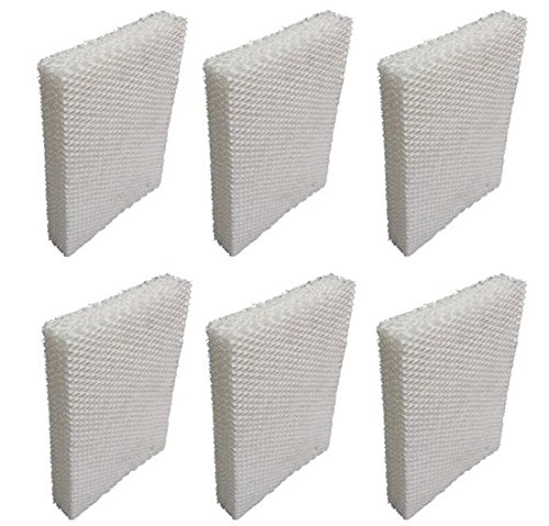 ZaZaTool - 6 Pack Humidifier Filter Wick Replacement for Lasko 1128