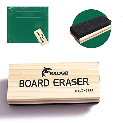 Chalkboard Eraser Wood Dustless Blackboard Cleaner