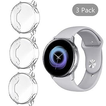 NEWZEROL Estuche para Smartwatch de 3 Pcs con psamsung ...