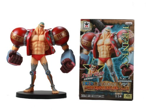Banpresto One Piece 48073 Grandline Men: Franky DX Figure, Volume #13