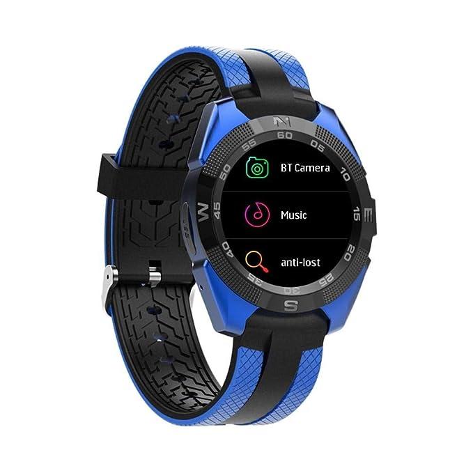 Amazon.com: L3 Fashion Bluetooth SmartWatch Mineral Glass ...