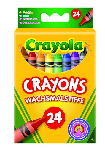 Crayola FBA_247 Classic Pack Crayons 24 Assorted Colors Standard Box