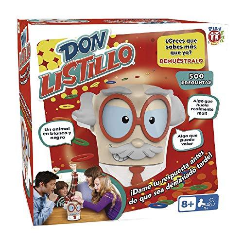 Juego de Mesa Familiar y para Ninos Don Listillo de Play Fun - IMC Toys