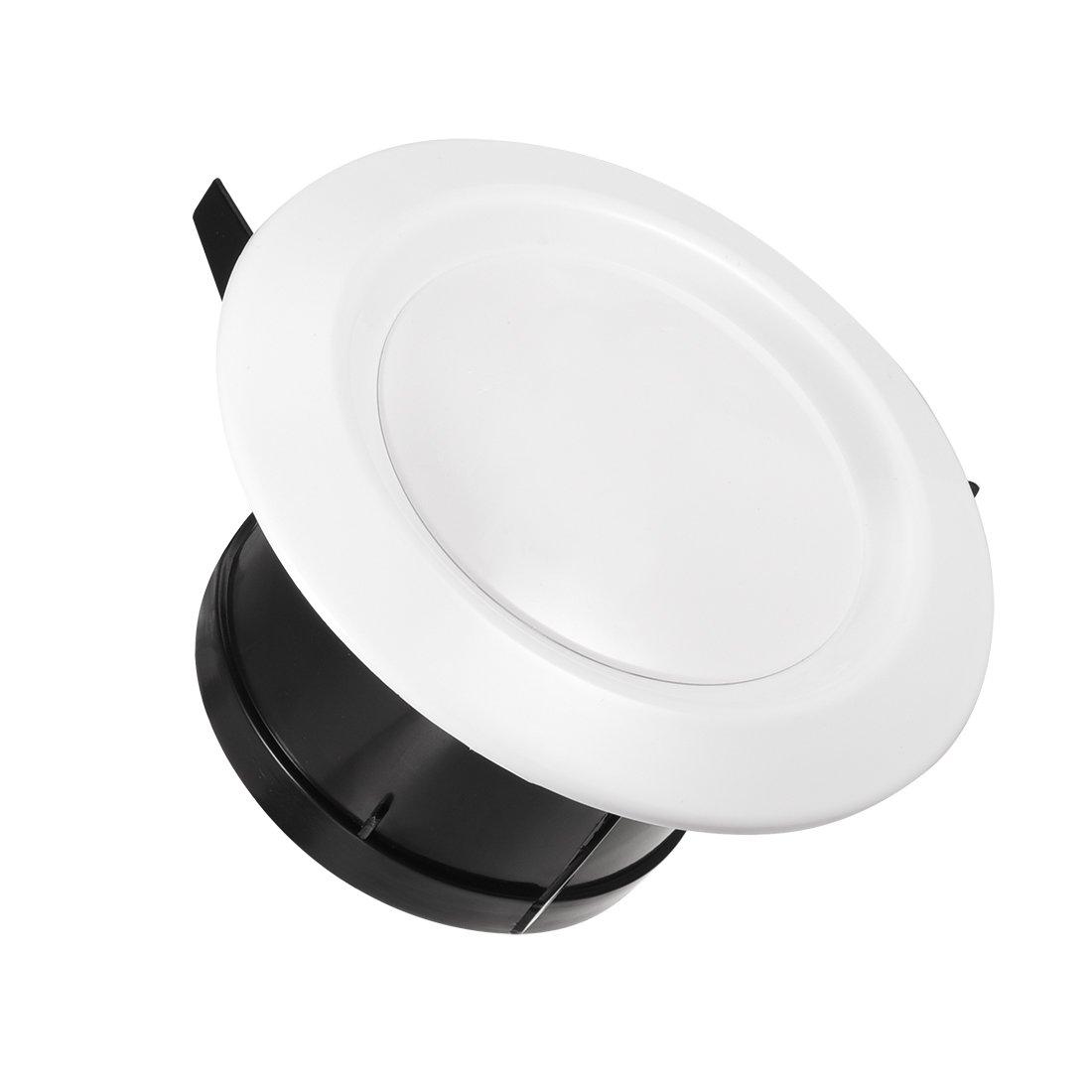 sourcing map 4 pollici di sfiato di aria circolare Bianco ABS regolabile del coperchio valvola di scarico
