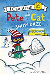 New York Times bestselling author and artist James Dean brings readers along for a fun, surprising, snowy adventure with Pete the Cat!               In Pete the Cat: Snow Daze, school is canceled, and Pete cannot wait to play ...