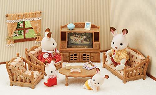 Sylvanian Families Living Room Mini-Universe, 5339, Multi-Colour (Sets Furniture Room Living Uk)