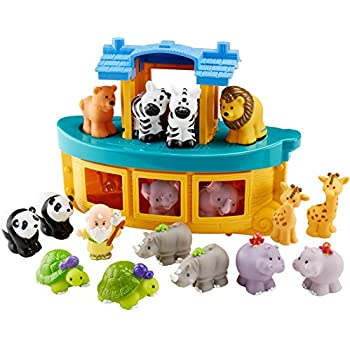 fisher price little people noahs ark gift set