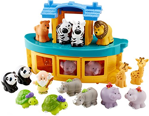 Noahs Ark Animals Zoo - Fisher-Price Little People Noah's Ark Gift Set