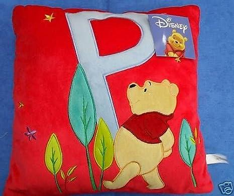 Disney Cojín Winnie The Pooh Rojo Cojín Muebles cm 32 x 32 ...