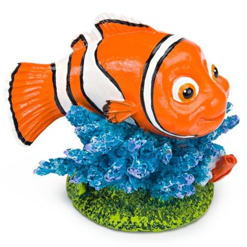 Penn Plax Finding Nemo Resin Ornament, 2-Inch Height ()