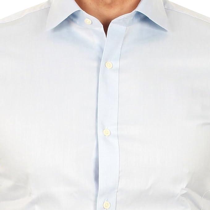 06c1f1beff20 Jack   Jones Chemise Homme XS Manches Longues Bleu Clair 12115936 JPRMILLER  SHIRTL S Noos Kentucky Blue Slim FIT  Amazon.fr  Vêtements et accessoires