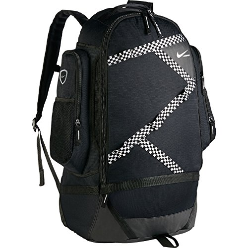 Nike Face-Off Lacrosse Backpack (Black, One Size) by NIKE