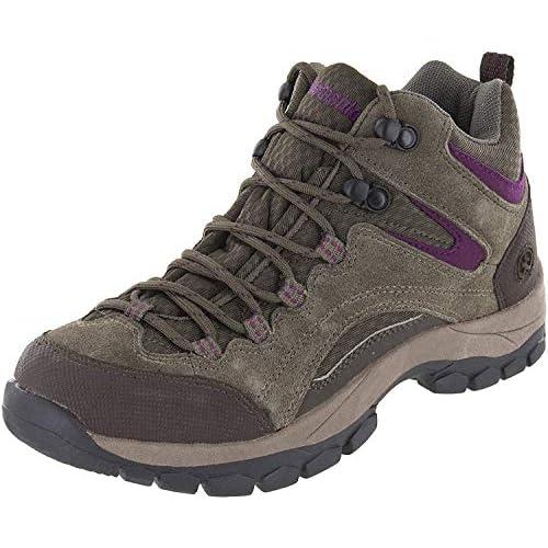 Northside Womens Pioneer Mid Leather Waterproof Hiking Shoe PIONEER II-W