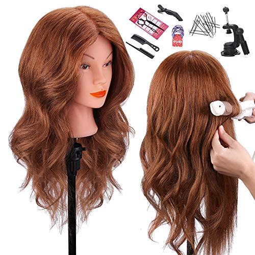 Top 10 cosmetology mannequin head with human hair