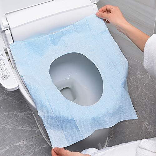 使い捨てトイレパッドPEフィルムホームトラベルビジネス粘着クッション紙 10のパック