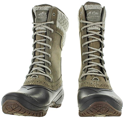 Tall Shellista Botte D'hiver Ii Femmes Toile North Face Gris The xwp4C4