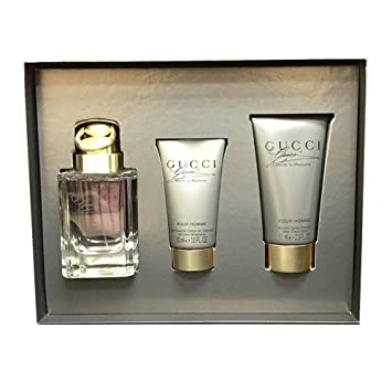 Gucci Made To Measure - 2.5 oz After Shave Balm Amore Pacific - Time Response Skin Renewal Gel Creme - 50ml/1.7oz