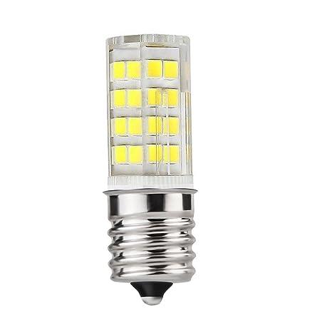 Bombilla LED E17, luz regulable para microondas, 4 W, blanco ...