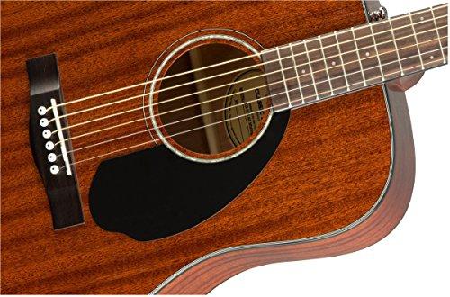 Fender CD60s Dreadnought Acoustic Guitar (Mahagony) 4