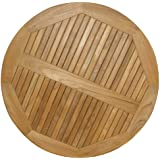 American Trading Company Teak Round Table Top