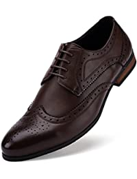 Mens Wingtip Oxford Dress Shoes