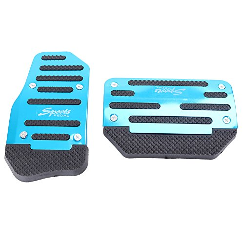 - Timmart Car Manual Brake Pedal Non-slip Sport Pedal Cover Fit Most Automatic Vehicles