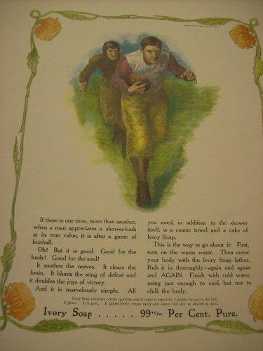Ivory Soap Advertisement Print Circa 1907