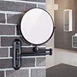 Sanliv 8 Inch Double Sided Makeup Mirror with 7X