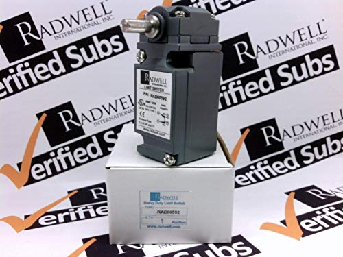 RADWELL VERIFIED SUBSTITUTE 802T-AMP-SUB Replacement of Allen Bradley 802T-AMP, Limit Switch - Heavy Duty SPDT Rotary Head 1NO/1NC MAINTAINED Limit Switch - - Switch Body Parts NOT Interchangeable W/