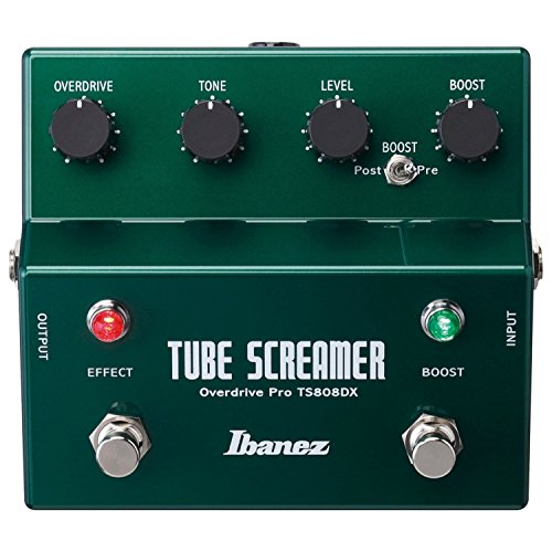 Ibanez TS808DX Tube Screamer Booster/Overdrive Pedal for sale  Delivered anywhere in USA