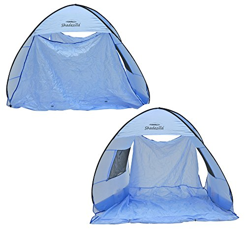 Instant Easy Pop-up Beach Tent Sun Shelter Canopy Cabana Shade UPF 55