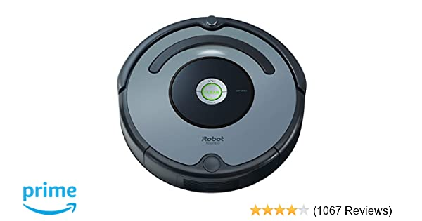 iRobot Roomba 640 Robot Vacuum - Good for Pet Hair, Carpets, Hard Floors, Self-Charging