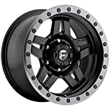 fuel anza wheels - Fuel Offroad Anza Black Wheel (178.5''/55inches -06mm Offset)