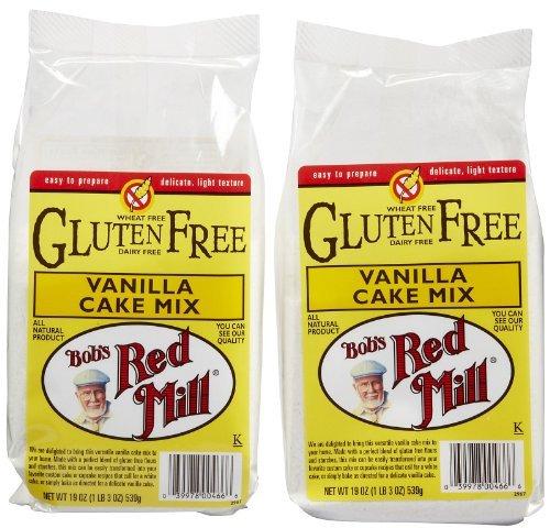 Bob's Red Mill Gluten Free Vanilla Cake Mix, 19 oz, 2 pk - Gluten Free Vanilla Cake Mix