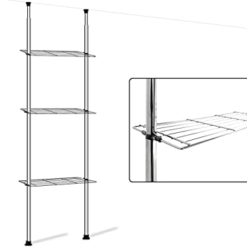 Meuble salle de bain hauteur paroi porte de en niche nano - Rangement au dessus des toilettes ...