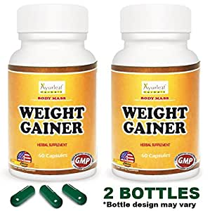 Amazon.com: Ayurleaf Weight Gainer - Weight Gain Formula