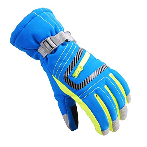 UNIQUEBELLA Skihandschuhe Ski Snowboard Handschuhe Thermohandschuhe für Herren Damen Kinder #26