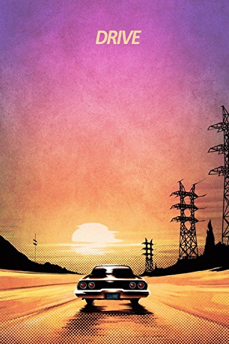TST INNOPRINT CO Drive Movie Fan Art Poster 24x36