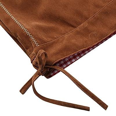 Clearlove Men's German Classic Bavarian Lederhosen Trousers Costume